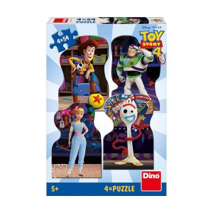 Puzzle 4 in 1 - TOY STORY 4 (54 piese)1