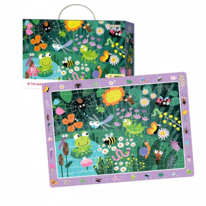 Puzzle - In gradina (80 piese) [2]