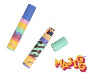 Set 12 creioane colorate in tub1