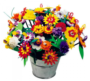 Set creativ - Buchetul de flori2