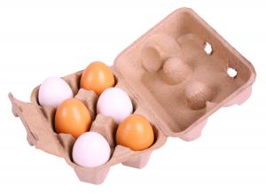 Set de 6 oua in cutie0