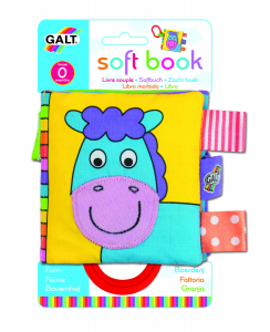 Soft Book: Carticica moale Farm2