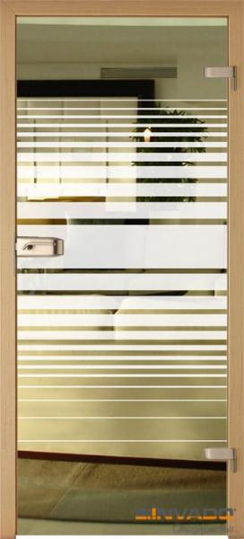 AMBER 3 - Usa Interior Sticla securizata cu toc MDF 0
