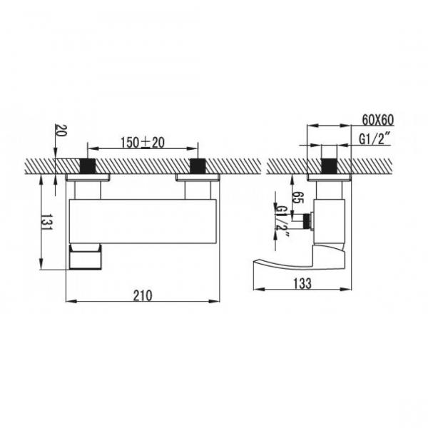 Baterie mixer dus - DINKO [1]