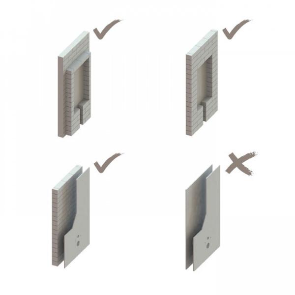 T07-5113 Rezervor wc încorporat cu dimensiuni speciale 1