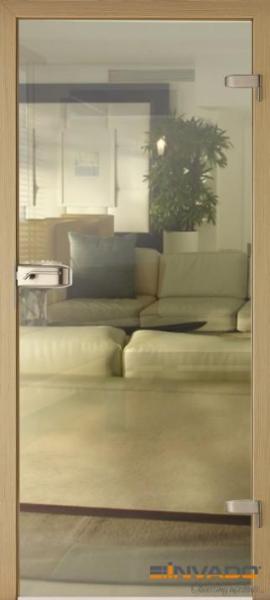 AMBER 14 - Usa Interior Sticla securizata cu toc MDF 0