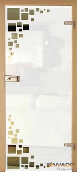 AMBER 5 - Usa Interior Sticla securizata cu toc MDF [0]
