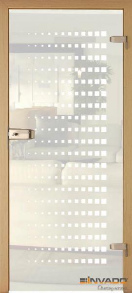 AMBER 8 - Usa Interior Sticla securizata cu toc MDF 0