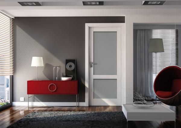 BIANCO SATI 3 - Usa Interior modulara MDF 1