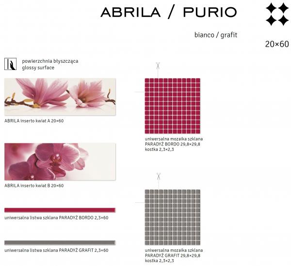 Bianco/Grafit - ABRILA/PURIO 3
