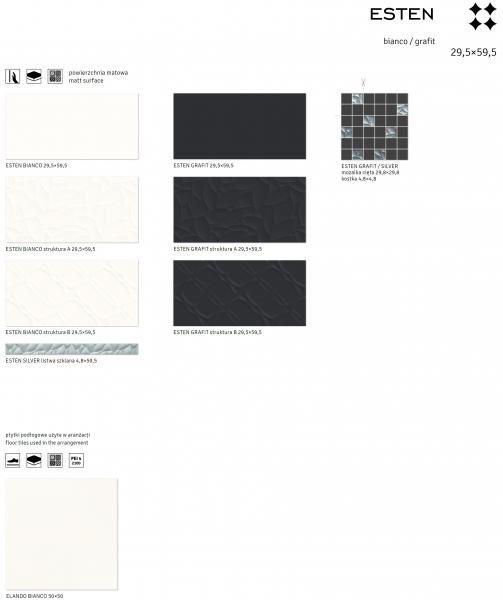 Bianco/Grafit - ESTEN [3]