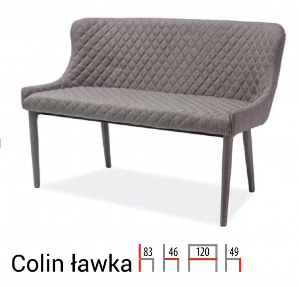 Banca Colin Gri - l120 x A46 x H83 cm [0]
