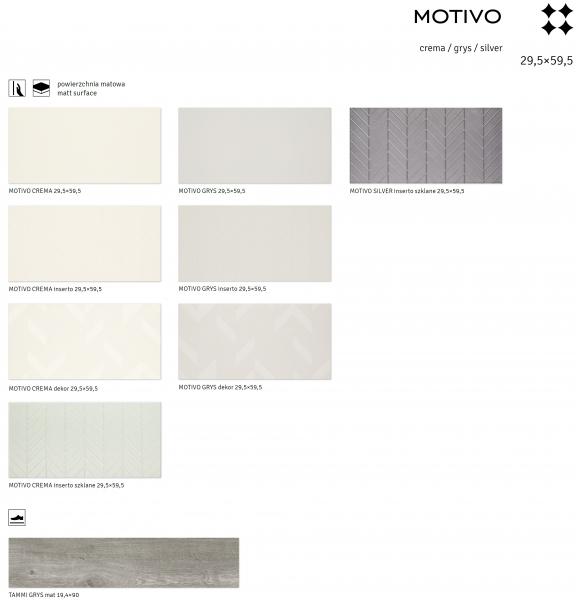 Crema/Grys/Silver - MOTIVO [1]