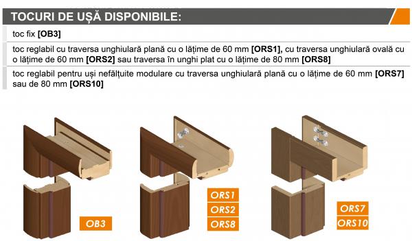 BIANCO SATI 1 - Usa Interior modulara MDF [4]