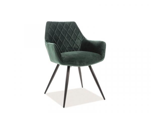 Scaun Linea Velvet Verde – l43 x A43 x H82 cm [0]