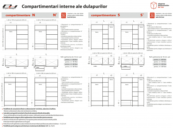Set Dormitor S02 - configuratie propusa: [6]