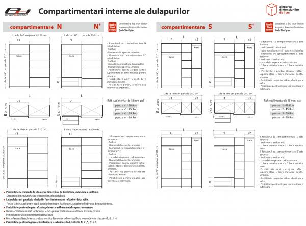 Set Dormitor Chance - configuratie propusa: [7]