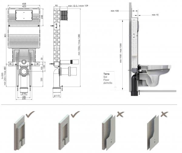T05-0111 Rezervor wc incorporat 1