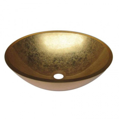 VETRO - Vas Lavoar de sticla - BRONZE - 420x420x140 mm [0]