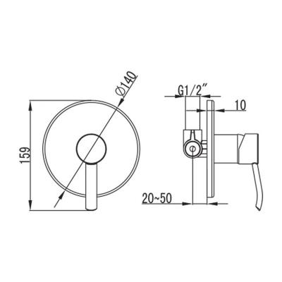 Baterie dus 3 moduri - incorporata - EASTER [1]