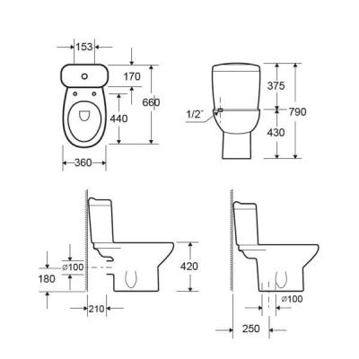 SQUARE WC/BIDEU [2]