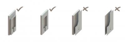 F1-0051 Suport de perete și pardoseală încorporat - bideu2