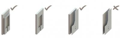 F2-0063 Suport de perete și pardoseală încorporat pentru bazin2