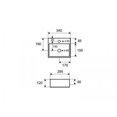 LT 2029 - Vas Lavoar 340x295x120mm [1]