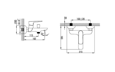 Baterie mixer cada - ENOCH [1]
