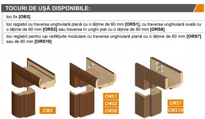 BIANCO SATI 3 - Usa Interior modulara MDF4
