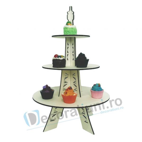 Stander prajituri, suport prajituri, candy bar - model Eiffel Tower 0