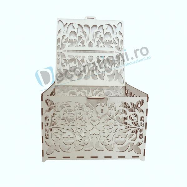 Cutie din lemn pentru dar - model Romantic 3