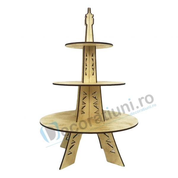 Stander prajituri, suport prajituri, candy bar - model Eiffel Tower 3