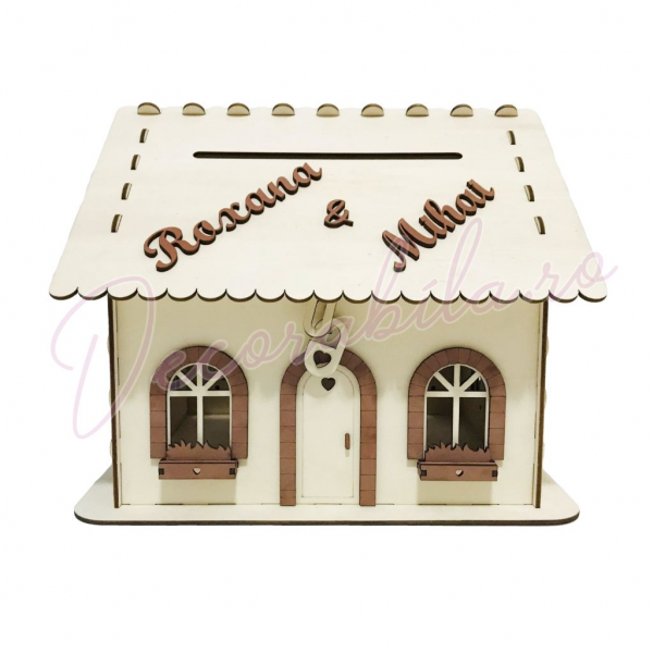 Casa dar pentru nunta - model rustic 1