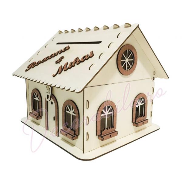Casa dar pentru nunta - model rustic 0