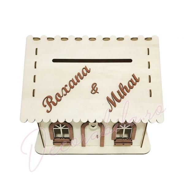 Casa dar pentru nunta - model rustic 2