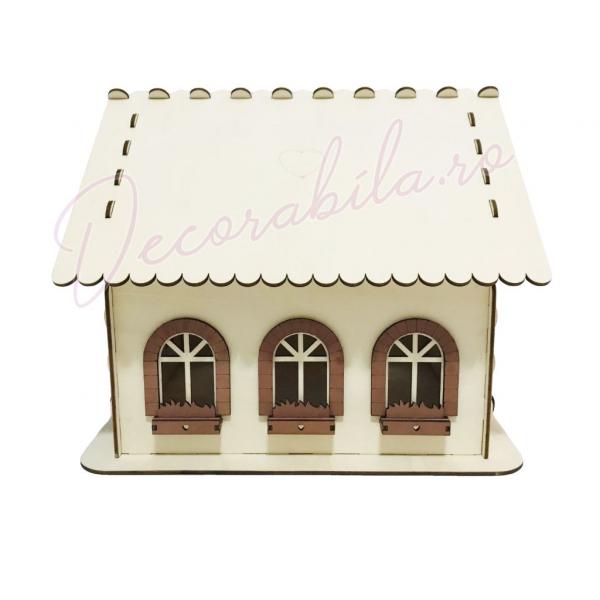 Casa dar pentru nunta - model rustic 3