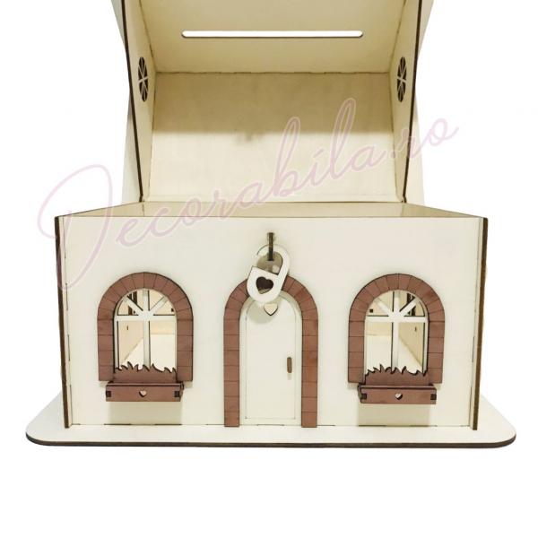Casa dar pentru nunta - model rustic 4