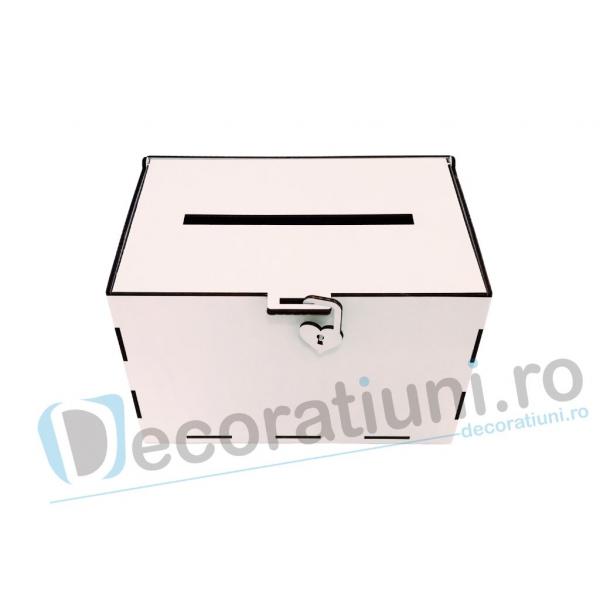 Cutie dar din lemn - model Simplu [0]