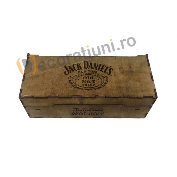 Cutie de lemn pentru sticla de whisky 7