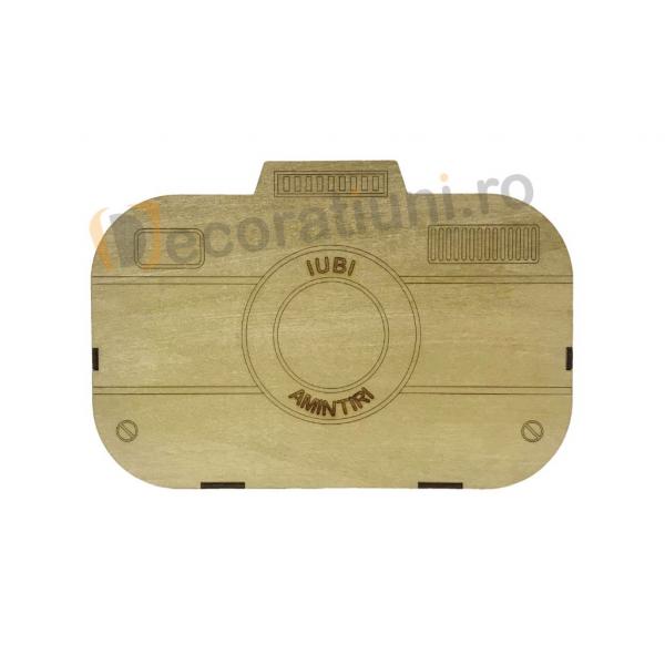 Cutie din lemn - model aparat photo 1
