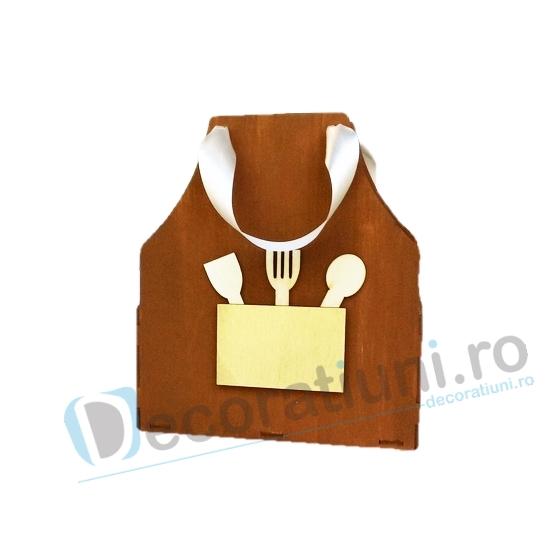 Cutie din lemn - model Apron 0