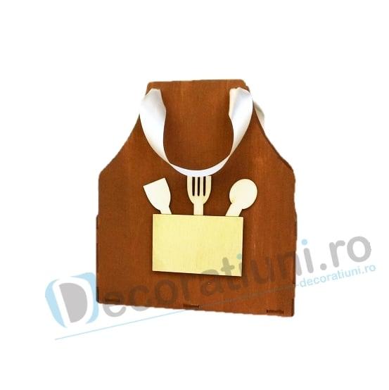 Cutie din lemn - model Apron 1
