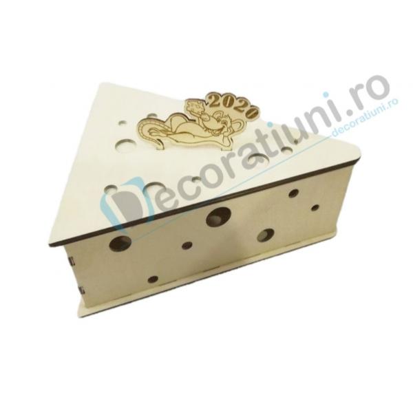 Cutie din lemn - model Chesse 0