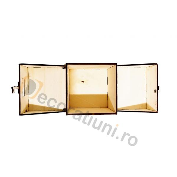 Cutie din lemn ornamentala - model Treasure 6