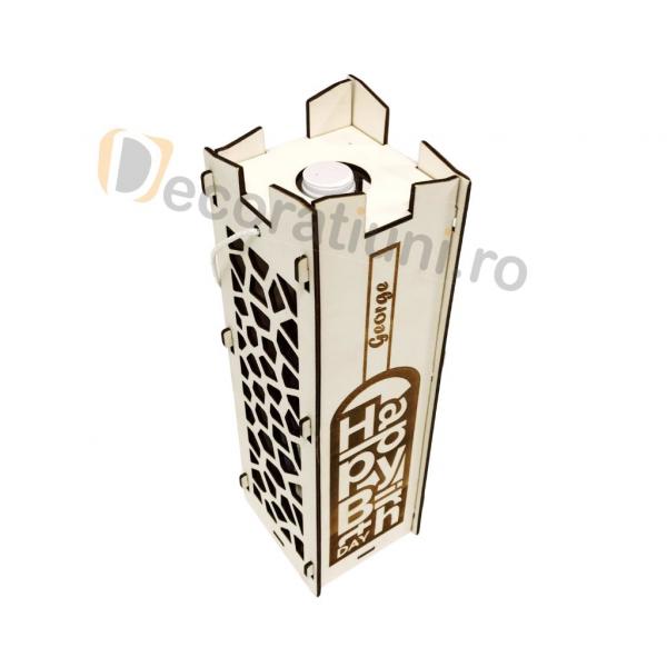 Cutie pentru vin din lemn - model Moralia 7