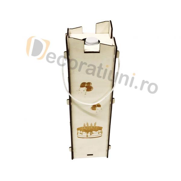 Cutie pentru vin din lemn - model Moralia 5