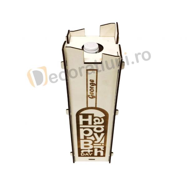Cutie pentru vin din lemn - model Moralia 6