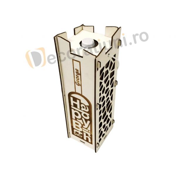 Cutie pentru vin din lemn - model Moralia 8