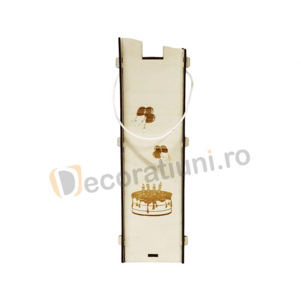 Cutie pentru vin din lemn - model Moralia 4